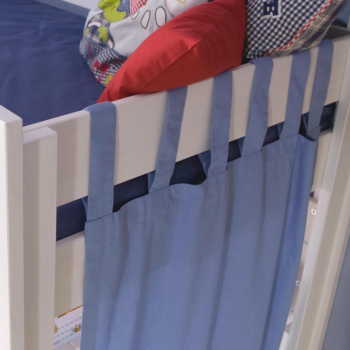 Vorhang DESTYLE Debreuyn hellblau