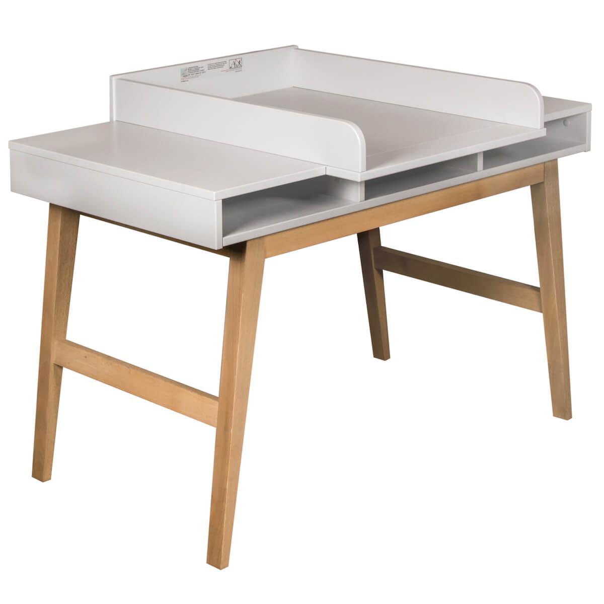 Wickelaufsatz Schreibtisch TRENDY Quax griffin grey