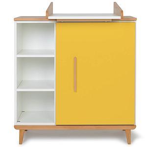 Wickelkommode 1-türig NADO sunshine yellow