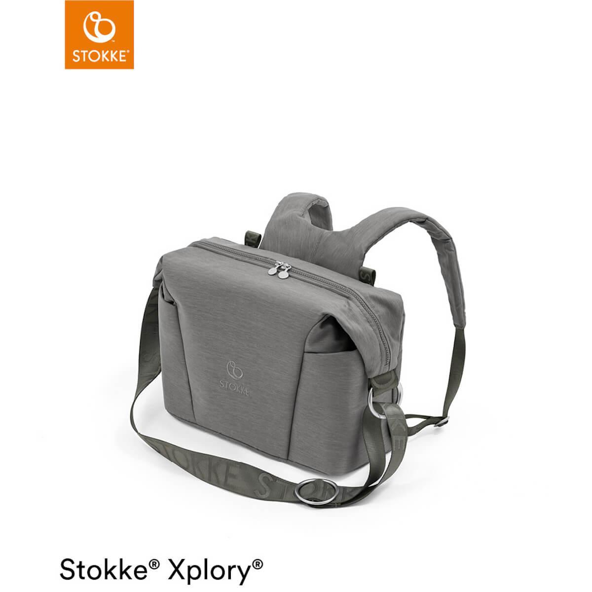Wickeltasche XPLORY X Stokke Modern Grey