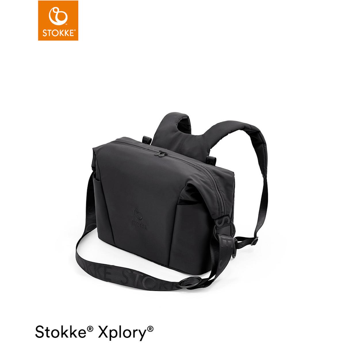 Wickeltasche XPLORY X Stokke Rich Black