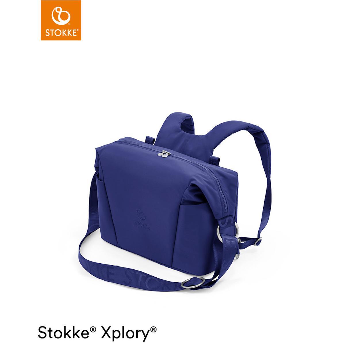 Wickeltasche XPLORY X Stokke Royal Blue