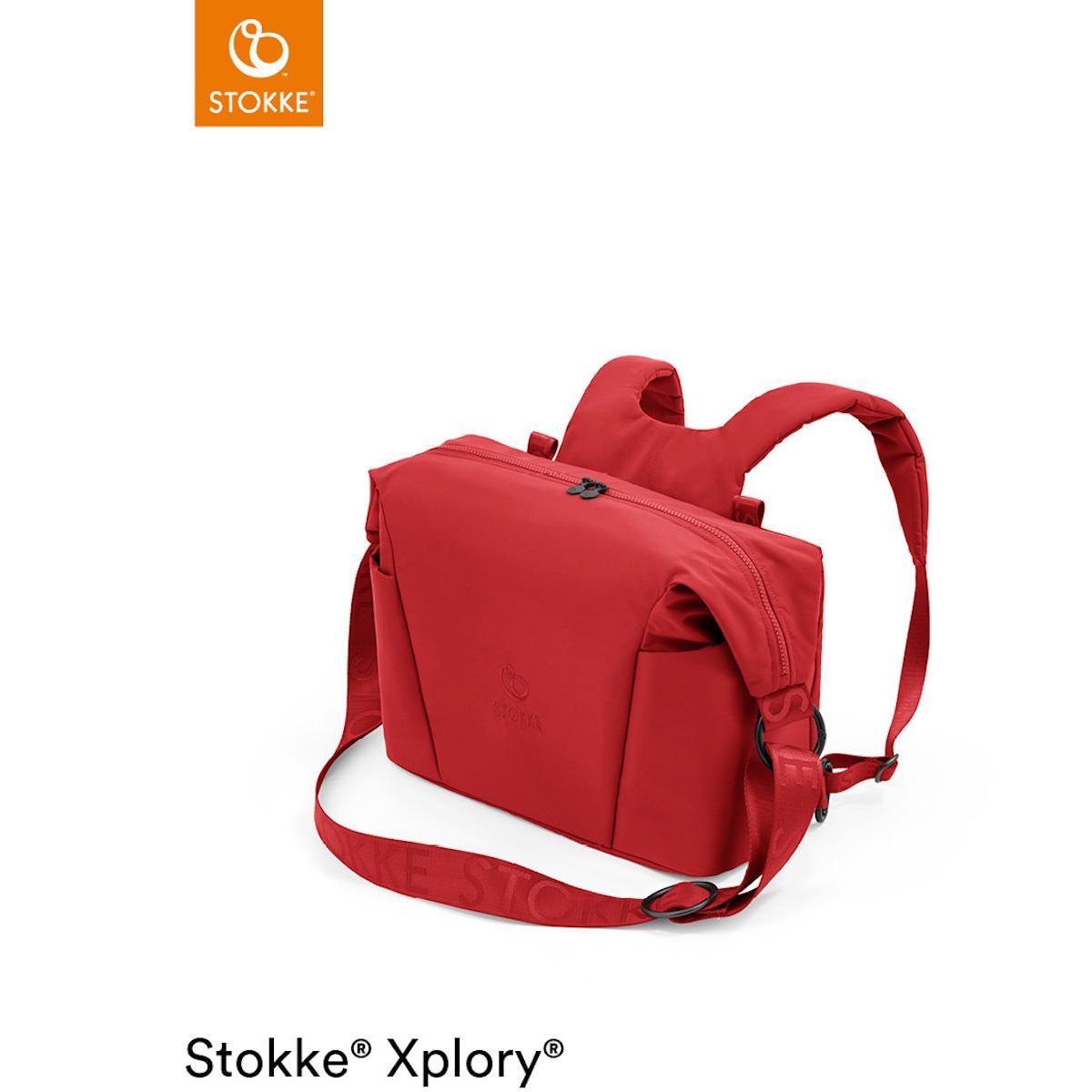 Wickeltasche XPLORY X Stokke Ruby Red