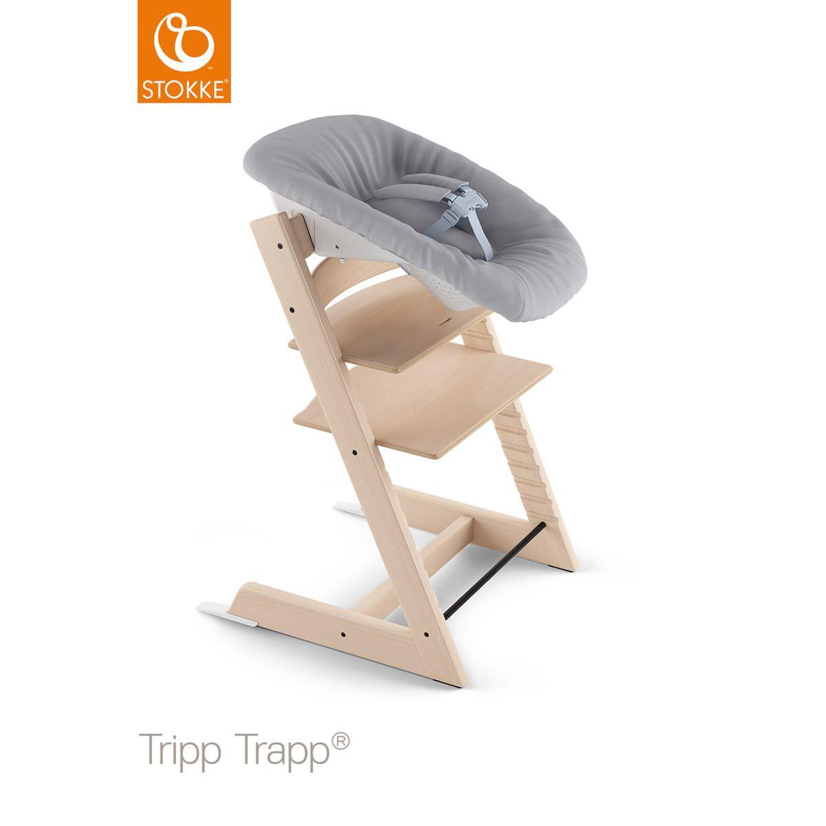 Wippe Neugeborenen Set TRIPP TRAPP V2 Stokke grey