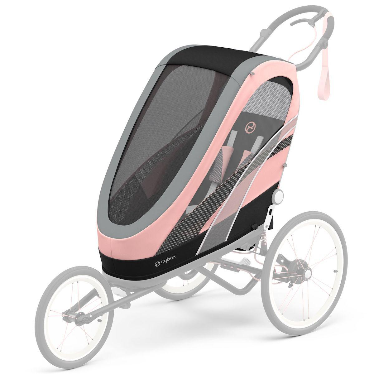 ZENO Pack siège Silver Pink | light pink SPORT GOODS Cybex